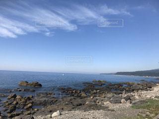 ある日の海岸の写真・画像素材[3259770]