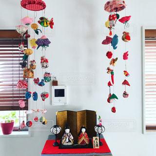 鮮やか,お祝い,華やか,桃の節句,おひな様,久月,吊るしびな