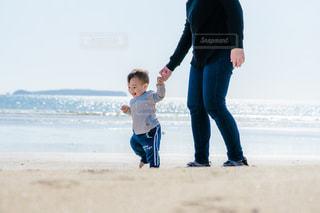 海岸散歩の写真・画像素材[3237495]