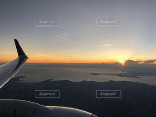 空,屋外,雲,夕暮れ,飛行機,旅行,夕陽,航空機,マジックアワー,フライト,航空