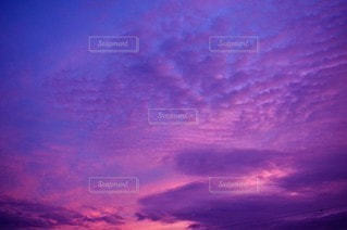 空,屋外,雲,夕暮れ