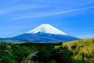 自然,風景,空,富士山,屋外,山,新緑