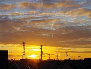 自然,風景,空,屋外,太陽,日の出,初日の出