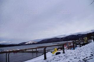 自然,空,冬,雪,屋外,山,日中