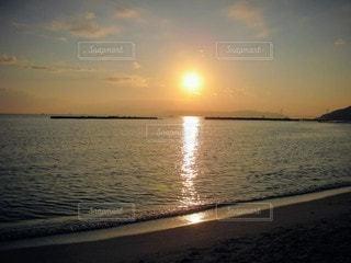自然,風景,海,空,屋外,湖,太陽,ビーチ,夕暮れ,水面,海岸