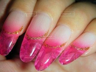 ネイル,ピンク,手,ジェルネイル,爪,クローズ アップ