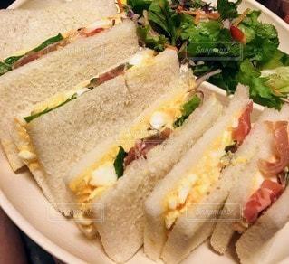 食べ物,サラダ,サンドイッチ,食品,卵,手作り,レシピ