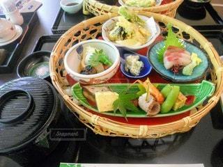 食べ物,食事,ランチ,野菜,サラダ,たくさん,料理,寿司,魚介類