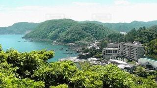自然,風景,空,屋外,湖,島,水面,海岸,山,景色,美しい,樹木,新緑,旅行,草木,眺め,山腹