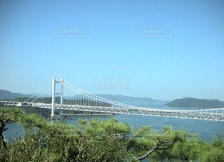 自然,海,空,建物,夏,橋,屋外,湖,川,水面,山,旅行,吊り橋,眺め,日中