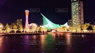 夜景の写真・画像素材[3223737]