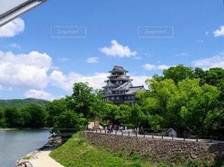 岡山城の写真・画像素材[3245897]