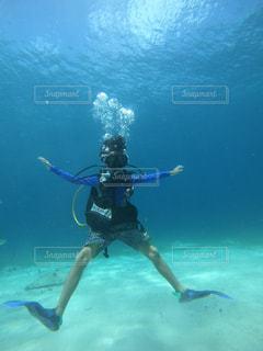 海,スポーツ,南国,泳ぐ,子供,水中,夏休み,南の島,男の子,バケーション,ダイビング,冒険,カリブ海,10歳,マリンスポーツ,家族旅行,南国リゾート,スキューバ ダイビング,キッズダイブ,記念ダイビング