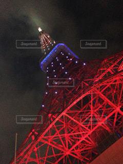東京タワー下の写真・画像素材[3250003]