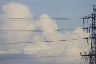 夕暮れ雲。の写真・画像素材[2411537]