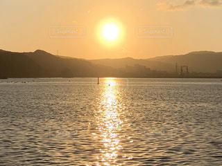 自然,風景,海,空,屋外,太陽,朝日,水面,海岸,日の出