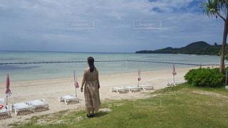自然,海,空,夏,海岸,人,石垣島