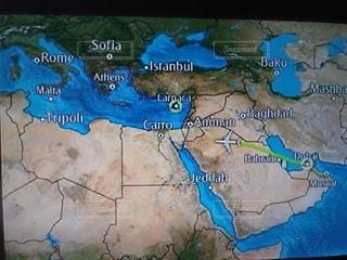 飛行機,旅行,地図