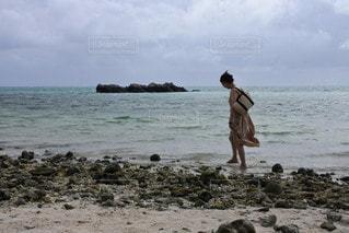 海,空,ビーチ,砂浜,人,竹富島