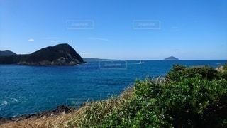 自然,風景,海,空,屋外,島,水面,海岸,山