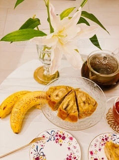 朝食,Smile,テーブル,料理,おいしい,おうち,ビューティー,banana,バナナ,おうち時間,笑顔と健康