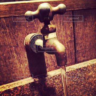 水,レトロ,古い,蛇口,水道