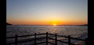 自然,海,屋外,太陽,ビーチ,夜明け,日の出