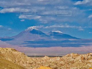 自然,風景,空,屋外,雲,山,砂漠,雄大,富士,南米,チリ,アタカマ