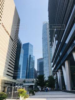 都市の高い建物の写真・画像素材[3228740]
