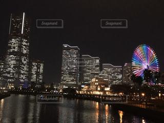 横浜の夜景の写真・画像素材[3282179]