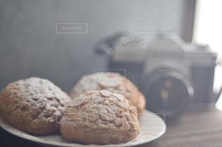 テーブルフォト,手作りお菓子,シュークリーム,クッキーシュー,ステイホーム