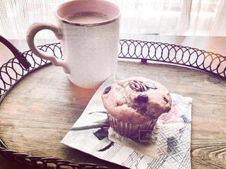 ケーキ,コーヒー,デザート,カップ,マフィン