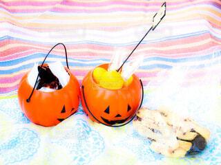 ハロウィンかぼちゃの写真・画像素材[3784101]