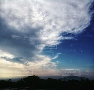 自然,空,夜,雲,夕暮れ,山,旅行,マジックアワー