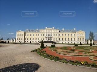 空,花,屋外,城,宮殿,ラトビア