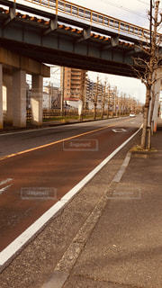 屋外,夕方,道,通り,藤沢