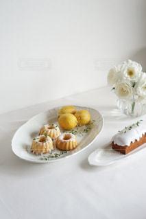レモンのお菓子作りの写真・画像素材[3219427]