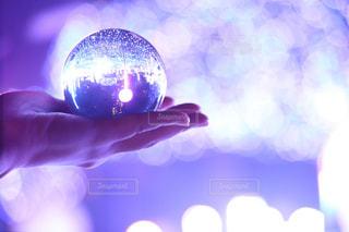 水晶玉の写真・画像素材[3221672]