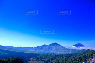 自然,空,海外,山,高原