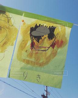 家族,空,青空,アート,子供,ペン,絵画,幼児,クレヨン,運動会,自画像,手書き,紙,おえかき,園児,絵具