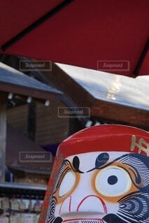達磨のクローズアップの写真・画像素材[4041316]