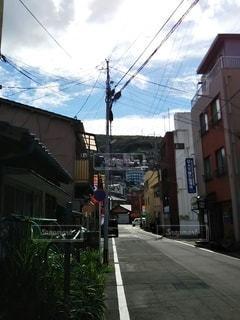 街の通りの眺めの写真・画像素材[3229918]