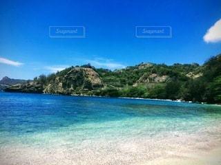 父島のビーチの写真・画像素材[3570199]