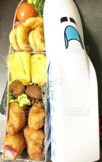新幹線のお弁当の写真・画像素材[3635885]