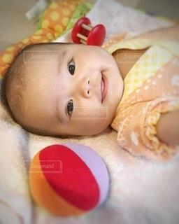 キレイな笑顔の写真・画像素材[3686453]