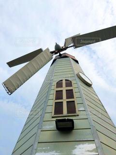 公園の風車の写真・画像素材[3235312]
