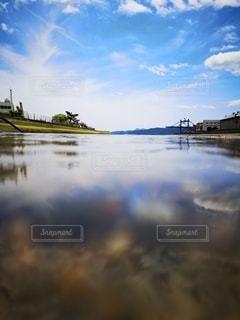 川からの眺めの写真・画像素材[3234605]