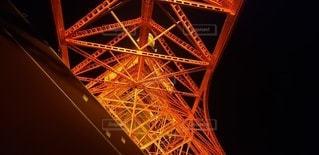 東京タワーの麓の写真・画像素材[3236898]