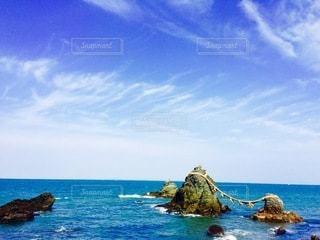 夫婦岩の写真・画像素材[3551803]