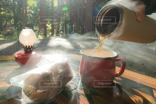 お茶の時間の写真・画像素材[3853059]